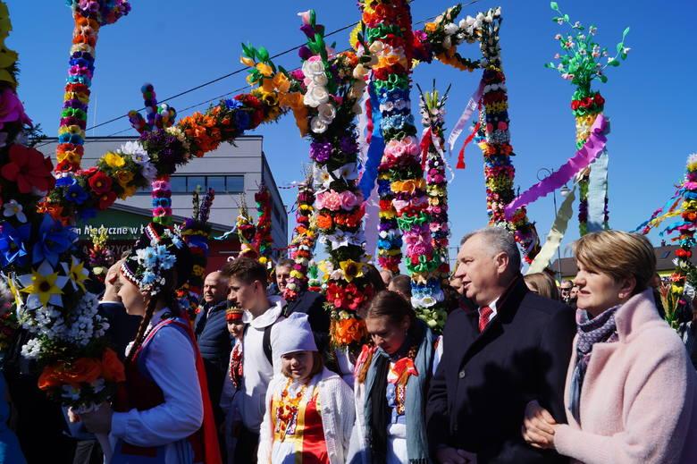 Niedziela Palmowa w Łysych 2019, 14 kwietnia
