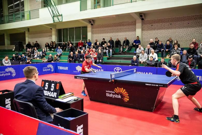 Wang Zeng Yi to największa medalowa nadzieja białostoczan podczas mistrzostw Polski w tenisie stołowym