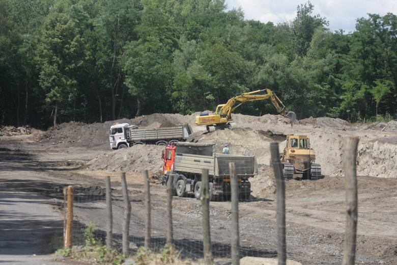 Budowa nowej hali Hillwood w Sosnowcu