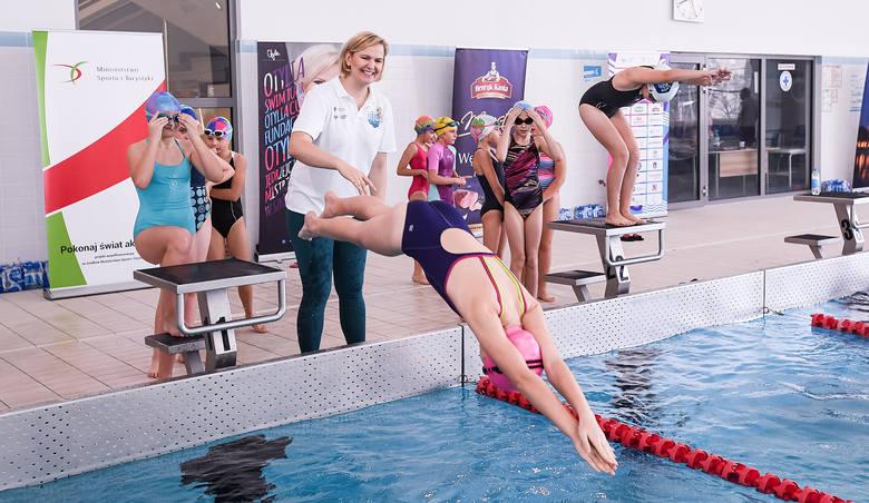 Otylia Jędrzejczak przeszkoliła ponad tysiąc młodych pływaków