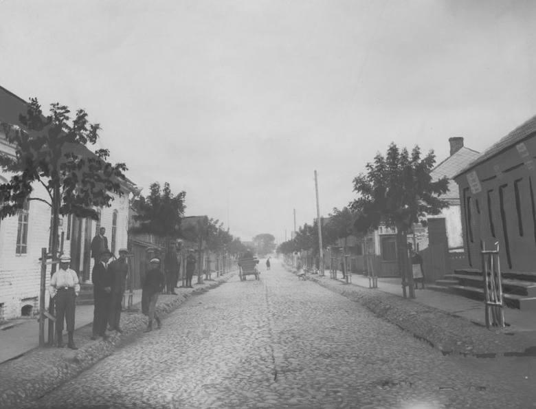 Ulica Pocztowa w Stołpcach