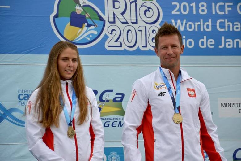 Kajakarstwo górskie. Niespodziewani mistrzowie świata - Aleksandra Stach i Marcin Pochwała. Dopłyną wspólnie na igrzyska olimpijskie?