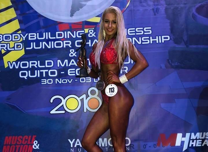 Patrycja Słaby Mistrzynią Świata Bikini Fitness. Sądeczanka zawojowała Ekwador