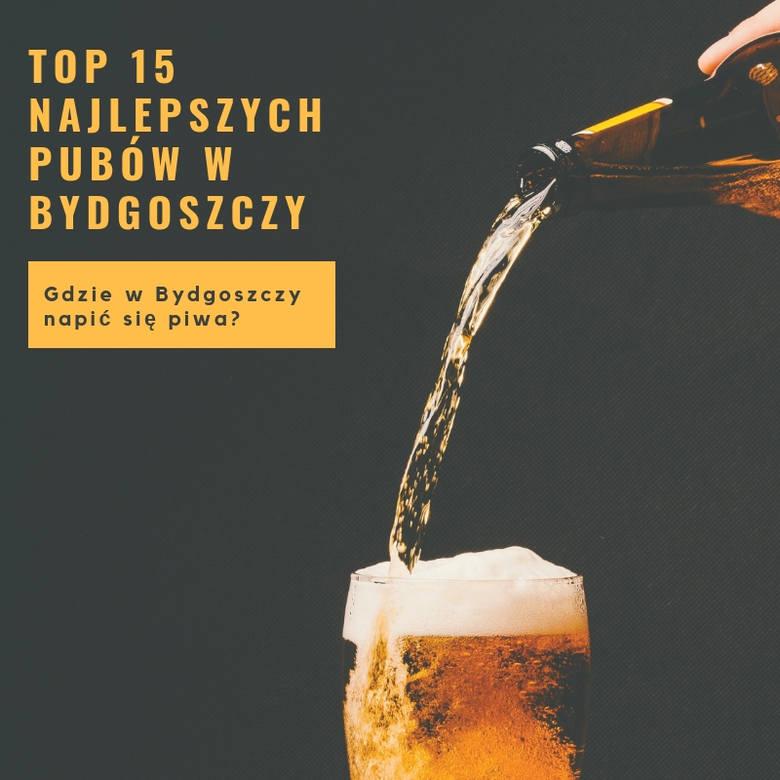 W Bydgoszczy jest kilkadziesiąt lokali, w których możemy się napić piwa, jednak nie w każdym miejscu smakuje ono tak samo. Przygotowaliśmy dla was ranking