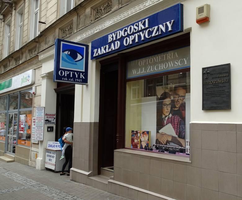 Gdańska 11 Bydgoski Zakład Optyczny, istnieje od 1945 roku