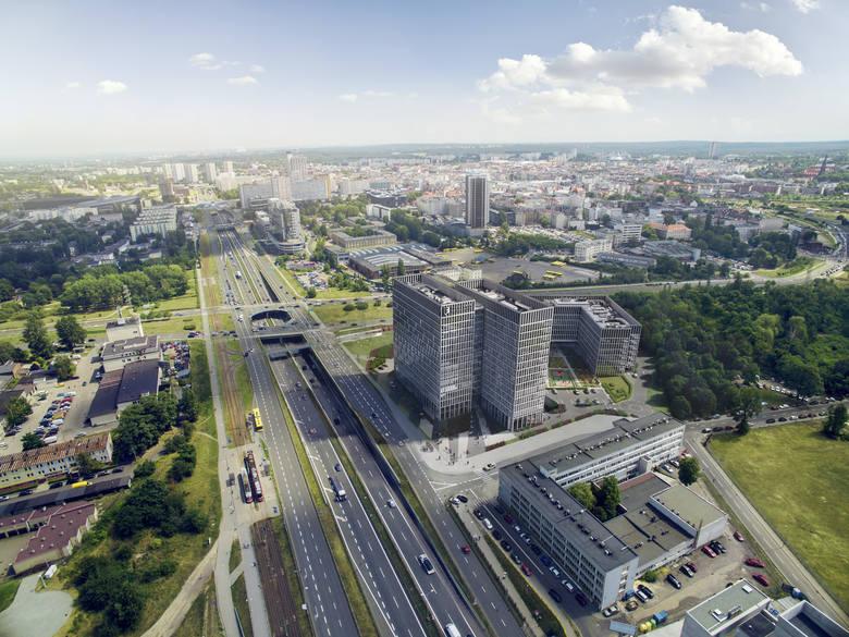 Katowice: dwa nowe biurowce Face2Face powstaną przy Chorzowskiej