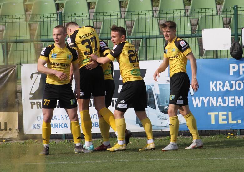II liga piłki nożnej: Siarka Tarnobrzeg - Olimpia Elbląg 1:0 (1:0)
