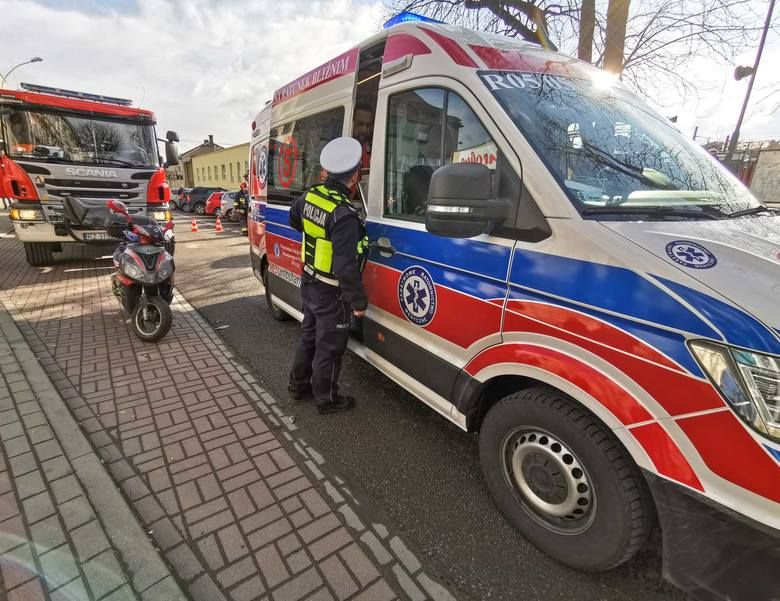 Do wypadku doszło w czwartek na ul. Czarnieckiego w Przemyślu, na wysokości dworca PKS. - Ze wstępnych ustaleń wynika, że kierujący BMW, 66-letni mieszkaniec