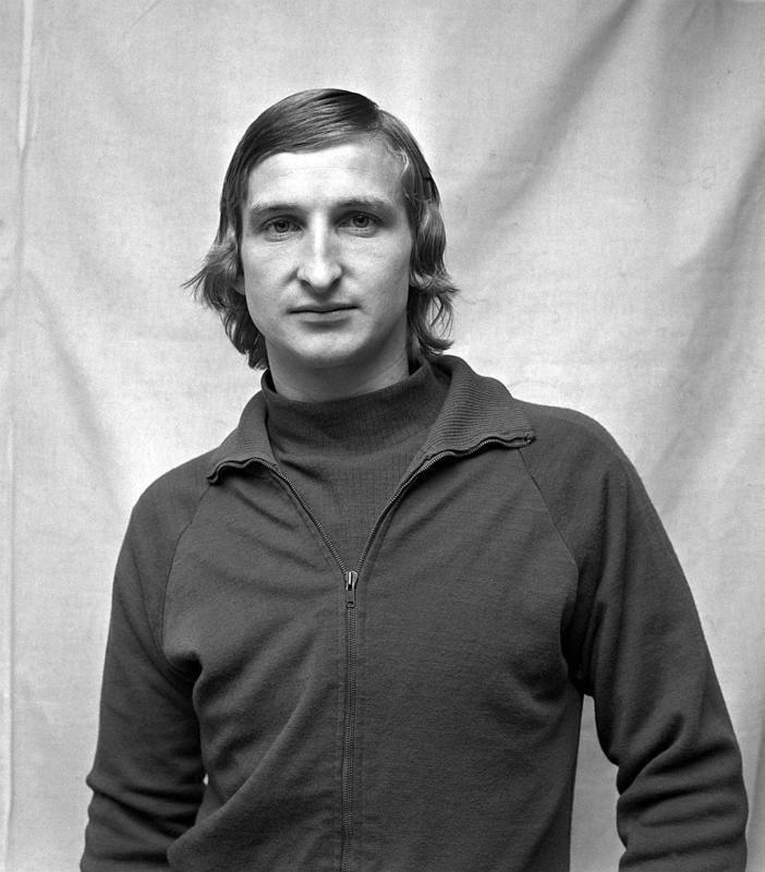 Wybitny piłkarz nożny Andrzej Szarmach