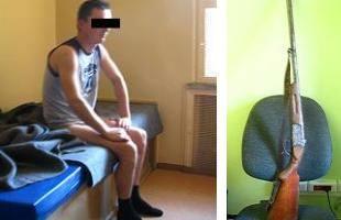 26-latek powiatu brzeskiego zatrzymany za nielegalne posiadanie broni