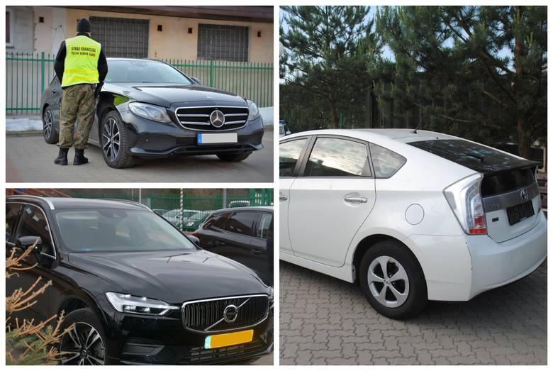 Straż graniczna odzyskała w czwartek skradzione auto marki Toyota Prius. Zobacz też inne, skradzione w ostatnim czasie, samochody.