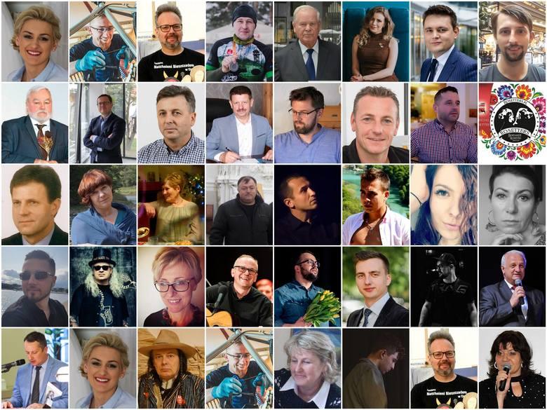 OSOBOWOŚĆ ROKU   Galeria liderów powiatowych w kategorii: Biznes i Kultura