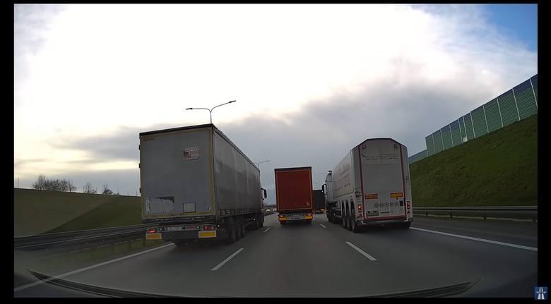 """Film z """"wyścigu"""" opublikowano 10 kwietnia na kanale Autostrady Polska"""