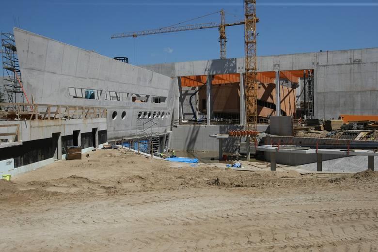 Wrocław: Konstrukcja Afrykarium w zoo już niemal gotowa. Teraz czas na dach