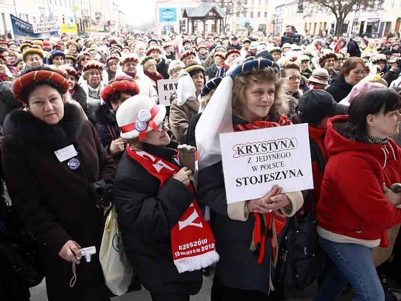 Na 15. jubileuszowy zjazd do Rzeszowa zjechał pół tysiąca Krystyn.