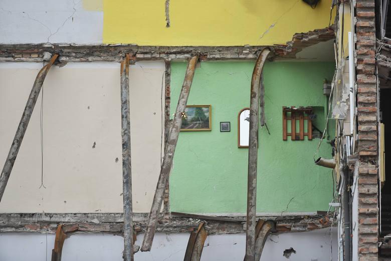 """Zdjęcie wykonane przez fotoreportera """"Głosu"""" w sobotę 10 marca - prawie tydzień po tragedii"""