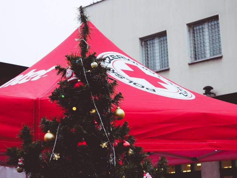 Pandemia utrudniła przygotowanie gwiazdki Polskiemu Czerwonemu Krzyżowi w Bydgoszczy, ale spotkanie świąteczne i tak się odbyło