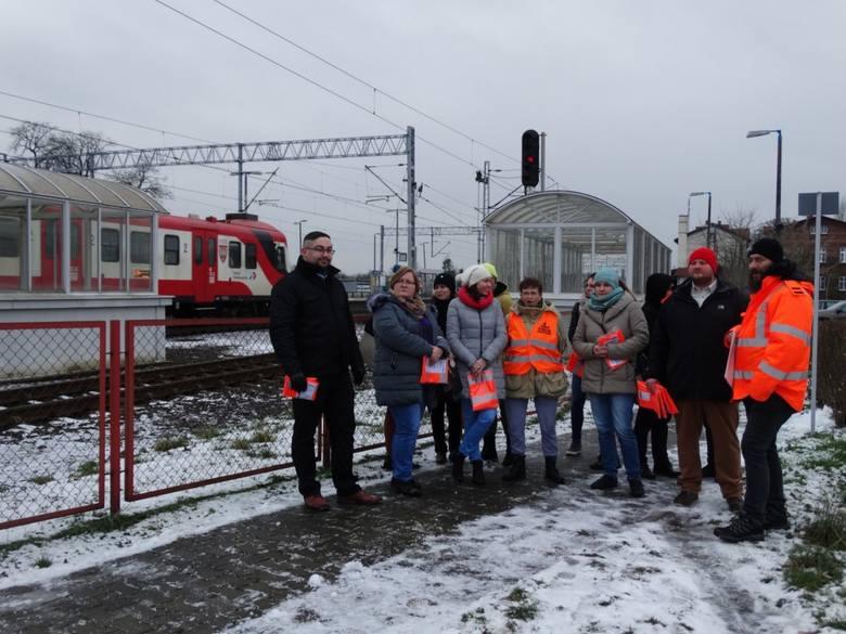 Pod koniec stycznia tego roku odbyło się specjalne szkolenie dla wolontariuszy na nowotomyskim PKP.