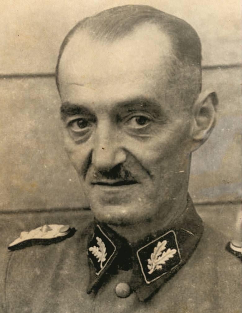 Oskar Dirlewanger (1895-1945)Urodził się w Würzburgu. Do armii trafił już w 1913 r. Służył jako strzelec CKM. Za swoją służbę w czasie I wojny światowej