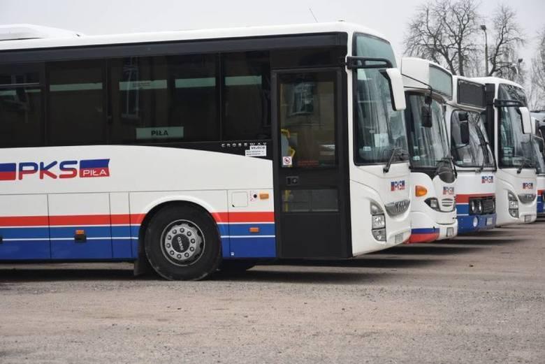 PKS Piła zawiesza większość połączeń