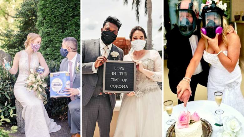 Ślub i wesele w dobie koronawirusa? Te pary nie czekały na koniec epidemii! Zobacz najlepsze zdjęcia ze ślubów w pandemii