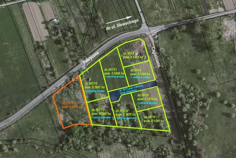 11 grudnia odbędzie się przetarg 8 działek przeznaczonych w MPZP na budownictwo jednorodzinne położone jest przy ulicy Ciegielnianej. Nieruchomości są