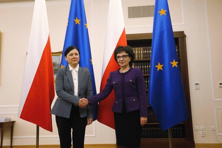 Wiceszefowa KE spotkała się m.in. z marszałek Sejmu ws. zmian w sądownictwie