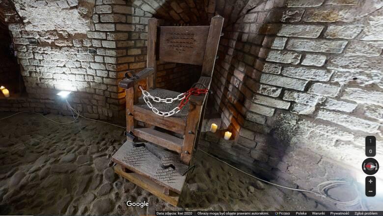 Kościotrup w klatce i sala tortur. Tak wygląda międzyrzecki zamek od środka!