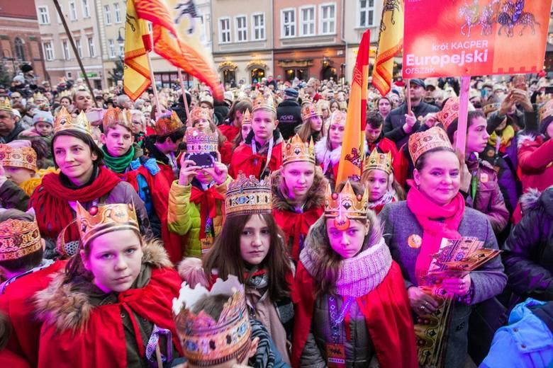 Orszak Trzech Króli w Opolu.