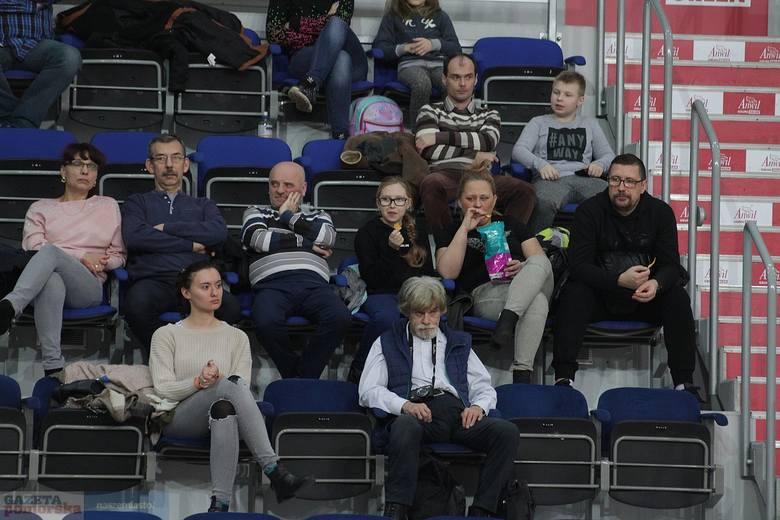 Mecz 1. ligi siatkówki kobiet WTS KDBS Włocławek - AZS Politechniki Śl. Gliwice