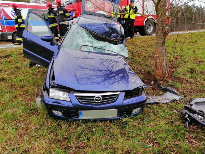 Do zdarzenia doszło we wtorek, 12 listopada, około godziny 11 w miejscowości Sumki.