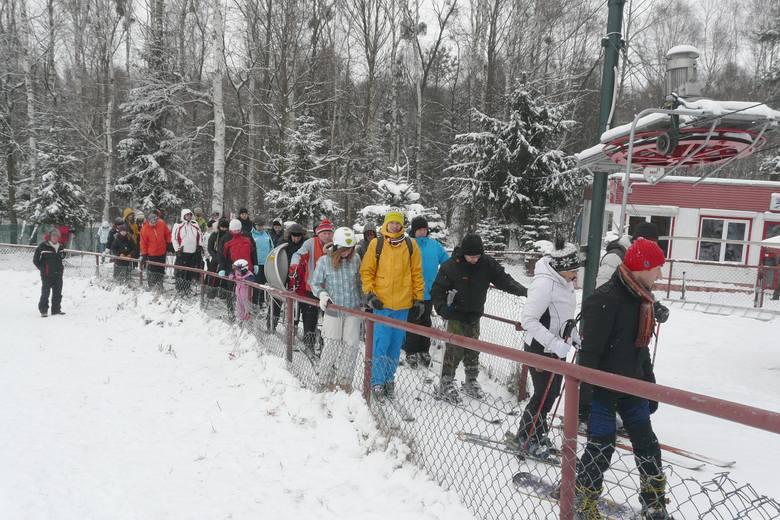 W weekendy przyjeżdżali tu narciarza z całej centralnej Polski...