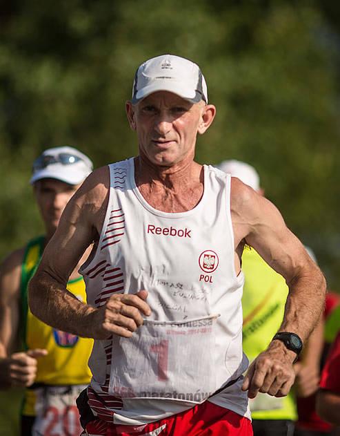 Ryszard Kałaczyński, maratończyk i ultramaratończyk z Wituni, pobije kolejny rekord