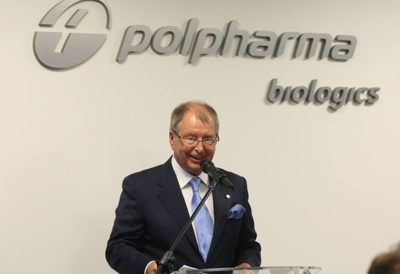 Jerzy Starak, ojczym Piotra Woźniaka-Staraka to właściciel farmaceutycznego imperium