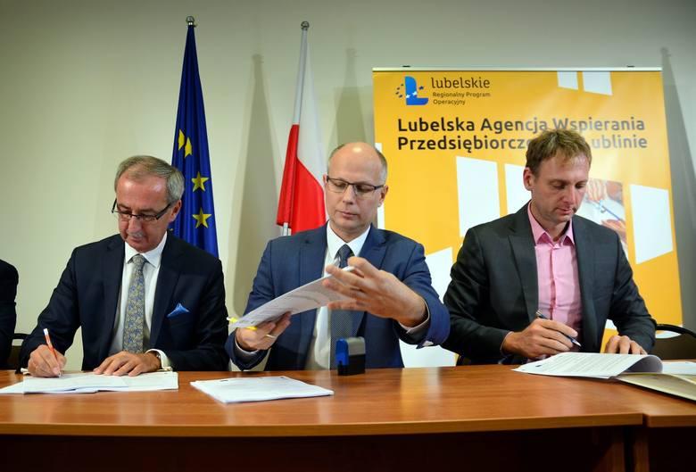 Dotacje unijne dla lubelskiego biznesu. Pierwsze miliony na sztuczną kość