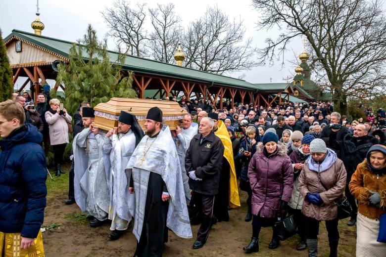 W niedzielę odbył się pogrzeb ojca archimandryty Gabriela. Jego ciało spoczęło na terenie skitu w Odrynkach. Ojciec Gabriel zmarł w czwartek wieczorem