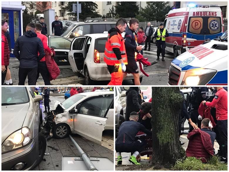 Wypadek młodych piłkarzy Pogoni Szczecin