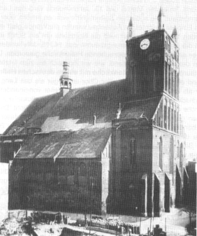 Widok na katedrę z około 1892 roku