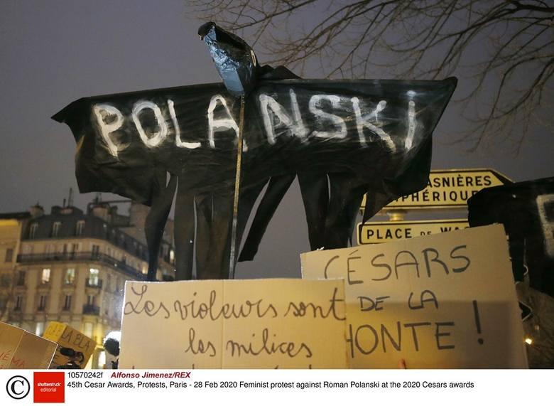"""Roman Polański uhonorowany na gali César 2020 za film """"An Officer and a Spy"""". Kilka aktorek w proteście opuściło ceremonię wręczenia"""