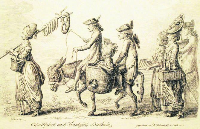 Pielgrzymka do francuskiego lasku, 1779