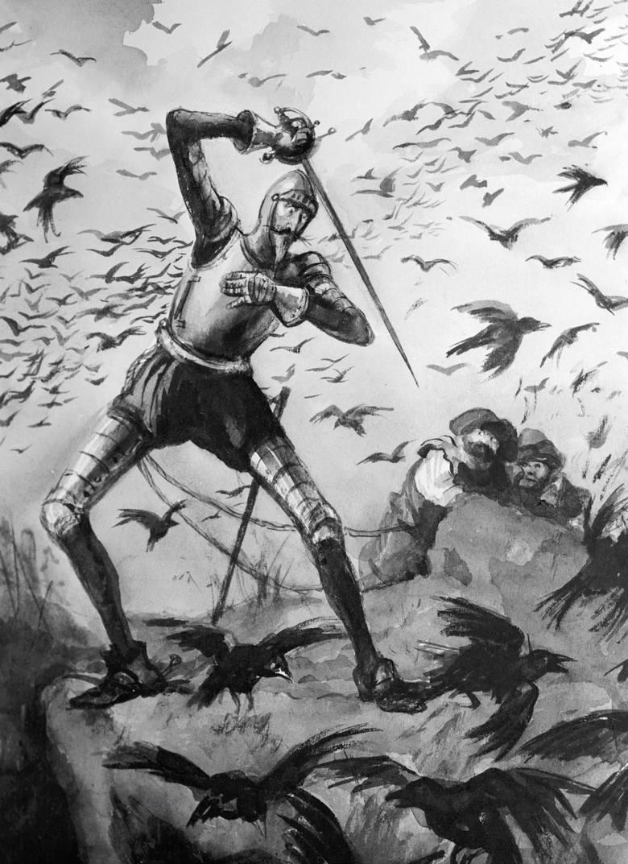 Illustracje do przygód Don Kichota autorstwa rosyjskich artystów