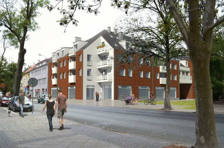 Nowe mieszkania przy ul. Oleskiej w Opolu - wizualizacja