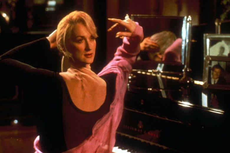 """Meryl Streep w filmie """"Ze śmiercią jej do twarzy"""" (1992)"""