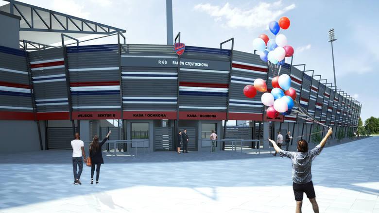 Modernizacja stadionu Rakowa Częstochowa: Radni poparli wniosek prezydenta w sprawie wpisania inwestycji do budżetu