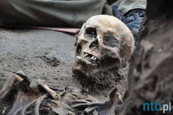 Odkrycie cmentarzyska w Byczynie