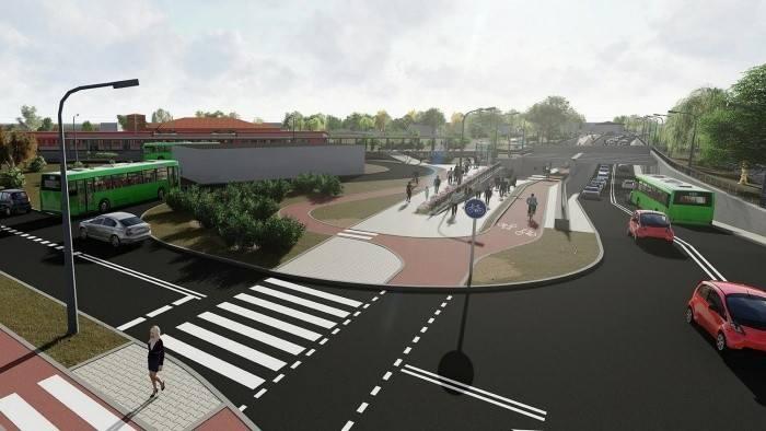 """Zintegrowany węzeł transportowy Grunwaldzka ma powstać w pobliżu stacji kolejowej Poznań Junikowo. Taka lokalizacja umożliwi przesiadkę """"drzwi w drzwi"""""""