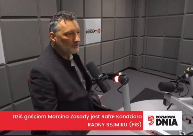Rafał Kandziora, radny sejmiku z Prawa i Sprawiedliwości, był gościem Marcina Zasady w Rozmowie Gościa Dnia DZ w Radiu Piekary