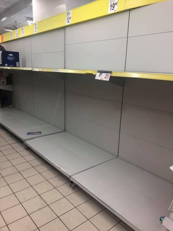 Sytuacja w tarnowskich sklepach