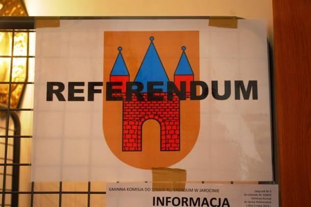 Referendum w Jarocinie nieważne. Była za niska frekwencja