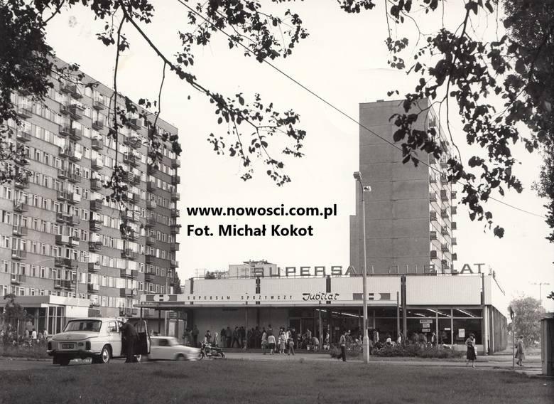 Kto pamięta dawnego Jubilata? Sklep przy Bażyńskich nazwę zawdzięczał XXX-leciu PRL. Gdy powstał, był największym supersamem w mieście i jako pierwszy